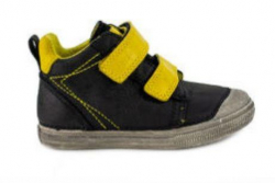 Detská celokožená obuv D.D.STEP 049-907BL black