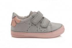 D.D.STEP celokožená dievčenská obuv 040-441
