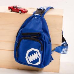 Chlapčenský  crossbody batoh modrý