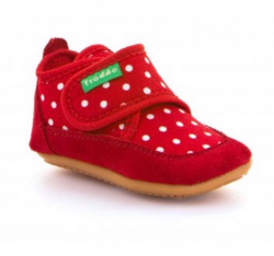 Barefoot papučky FRODDO G1170001 red