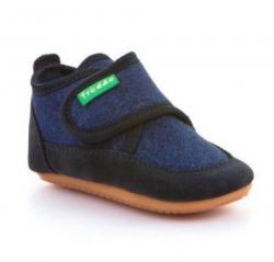 Barefoot papučky FRODDO G1170001-1 dark blue