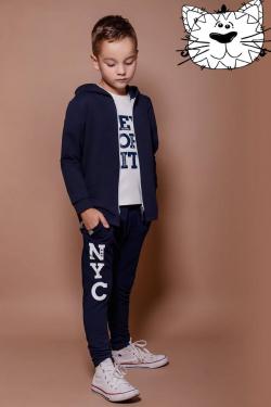 Bavlnená chlapčenská mikina NEW YORK