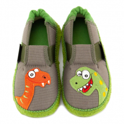 NANGA barefoot papuče NESSI wald