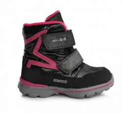 Dievčenské čižmy do snehu s membránou D.D.Step AQUA-TEX