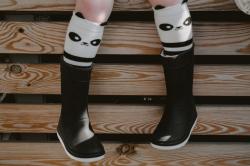 Podkolienky Mamas' feet PANDA
