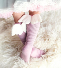 Podkolienky Mamas' feet ANGEL pink