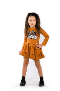 Bavlnená dievčenská tunika MM 594 Mickey
