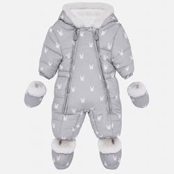 MAYORAL detský zimný overal 2603-017 grey