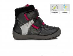 BAREFOOT DD.STEP detská zimná obuv 023-804BL