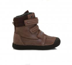 Chlapčenská zimná obuv DD.STEP 049-912BM chocolate