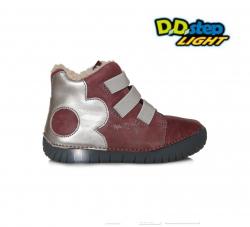 Svietiaca zimná obuv D.D.STEP 050-14AM raspberry