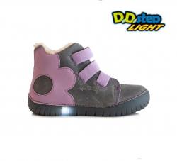 Svietiaca zimná obuv D.D.STEP 050-14BM grey