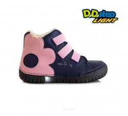 Svietiaca zimná obuv D.D.STEP 050-14M royal blue
