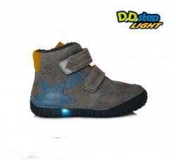 Svietiaca zimná obuv chlapčenská D.D.STEP 050-9AM