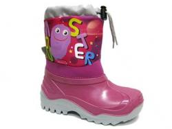 Dievčenská zimná obuv - snehule RENBUT 22-468 am.druk