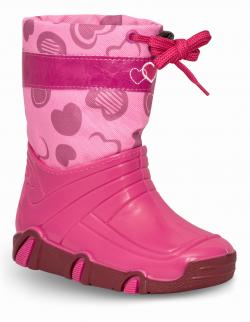 Dievčenské nepremokavé snehule ZETPOL pink