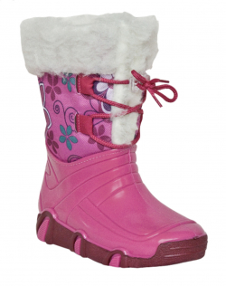 Dievčenské nepremokavé snehule ZETPOL pink f