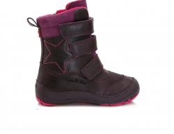 DD.STEP dievčenské zimné čižmy 023-809EL