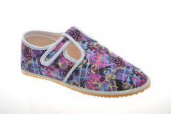 Dievčenské barefoot papuče JONAP lila