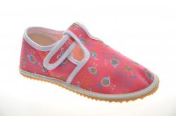 Dievčenské barefoot papuče JONAP school