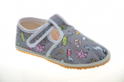 Dievčenské barefoot papuče JONAP dream