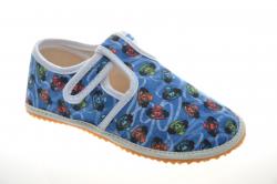 Chlapčenské barefoot papuče JONAP formula