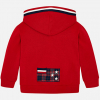 MAYORAL chlapčenská mikina 4453-095 red