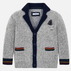 MAYORAL chlapčenský sveter 4437-076 grey