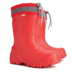 Detské čižmy do dažda a snehu MAMMUT červená