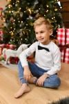 Chlapčenské bavlnené rifľové sako