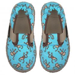 NANGA barefoot papuče LUSTIGE AFFEN