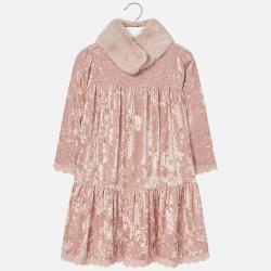 MAYORAL dievčenské šaty sametové  7932-057