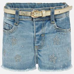 MAYORAL dievčenské krátke nohavice riflové 1203-033
