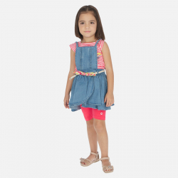 MAYORAL rifľová traková sukňa 3910-005 denim