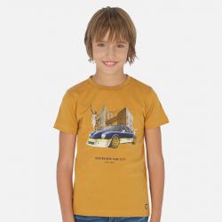 MAYORAL chlapčenské  tričko 6060-026 amber