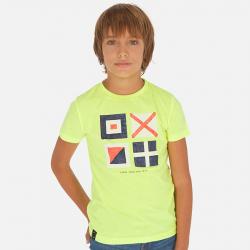 MAYORAL chlapčenské tričko s krátkym rukávom 6070-063 citrus