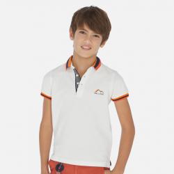 MAYORAL chlapčenská polokošeľa 06141-094 white