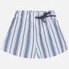 MAYORAL dievčenské pásikavé šortky 06256-019 blue