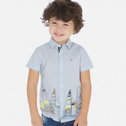 Chlapčenská letná košeľa s potlľačou MAYORAL