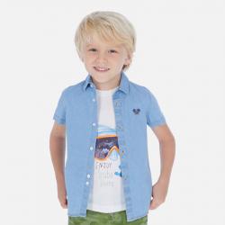 Chlapčenská rifľová košeľa MAYORAL 3169-005