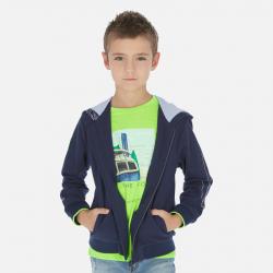 MAYORAL chlapčenská bundička s kapucňou 06445-025 blue