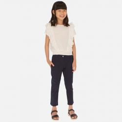 MAYORAL dievčenské nohavice modré  06528-074 navy