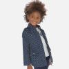 MAYORAL prechodný dievčenský kabátik s bodkami