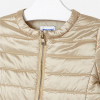 MAYORAL béžovozlatý prechodný dievčenský kabát
