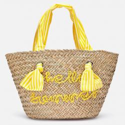 Dievčenská plážová kabelka MAYORAL 10805-071 yellow