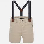 Krátke nohavice trakové