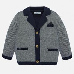 MAYORAL chlapčenský pletený sveter 1455-015 navy