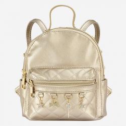 MAYORAL dievčenský koženkový batoh 10808-057 golden