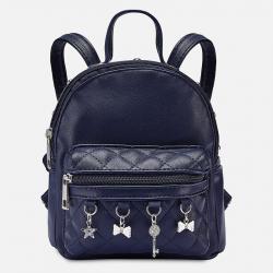 MAYORAL dievčenský koženkový batoh 10808-058 navy