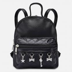 MAYORAL dievčenský koženkový batoh 10808-060 black